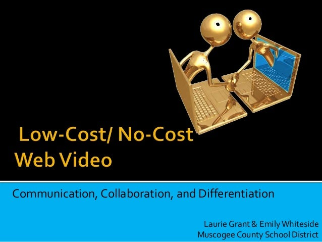 Communication, Collaboration, and Differentiation Laurie Grant & EmilyWhiteside Muscogee County School District