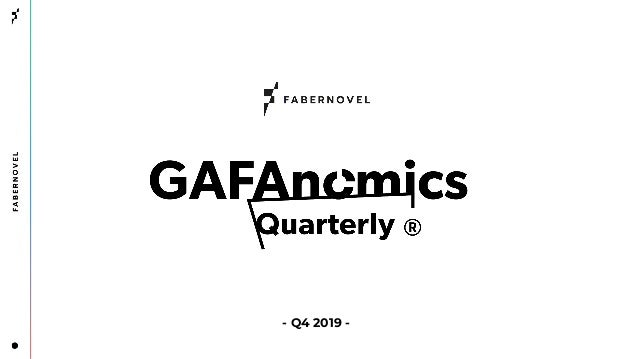 Gafanomics - Quarterly - Episode 4 (Q4FY19)