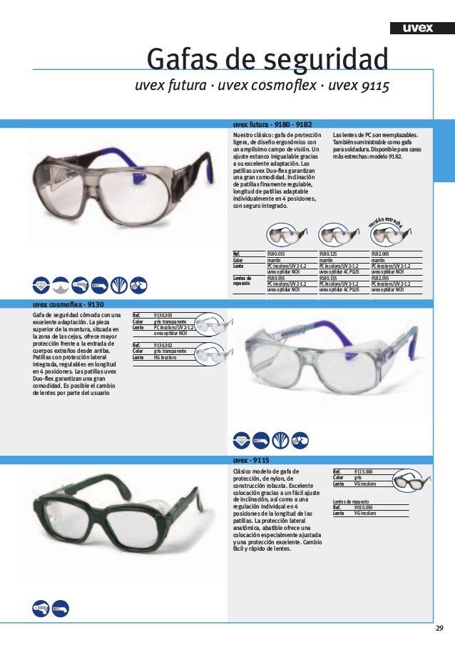 Color Transparente Uvex Pheos Supravision Extreme Gafas Protectoras Negro y Gris