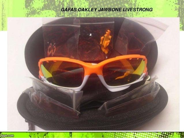 gafas oakley jawbone livestrong