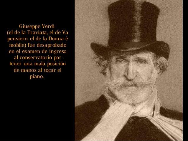 Hablando de la Donna è mobile... Verdi necesitaba un aria para terminar su ópera Rigoletto, y la tarde anterior al estreno...