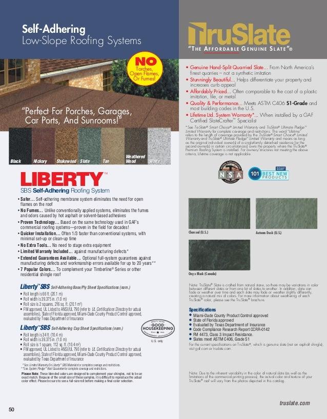 Gaf Residential Full Line Brochure