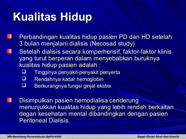 sap hemodialisa