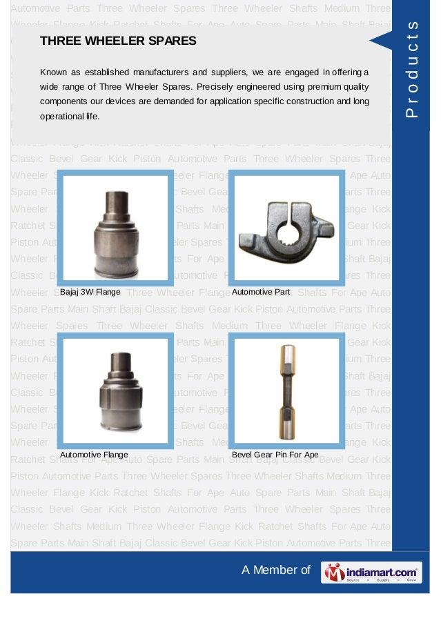 Gagan Auto Industries, Ludhiana, Auto Parts