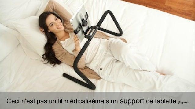 Ceci n'est pas un lit médicalisémais un support de tablette   (Zygnum)