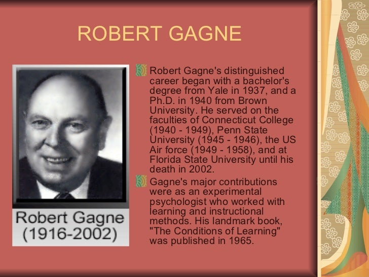 What should e-learning designers know about gagne's 9 events of.