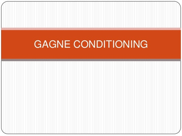 GAGNE CONDITIONING