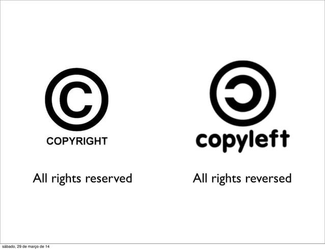 All rights reserved All rights reversed sábado, 29 de março de 14
