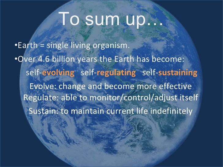 What Are Earth S Natural System