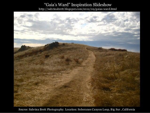 """Gaia's Ward"" Inspiration Slideshow               http://sabrinabrett.blogspot.com/2012/09/gaias-ward.htmlSource: Sabrina ..."