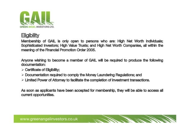 Gail Project Finance