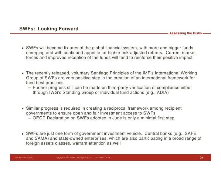 SWFs: Looking Forward                                                                                               Assess...