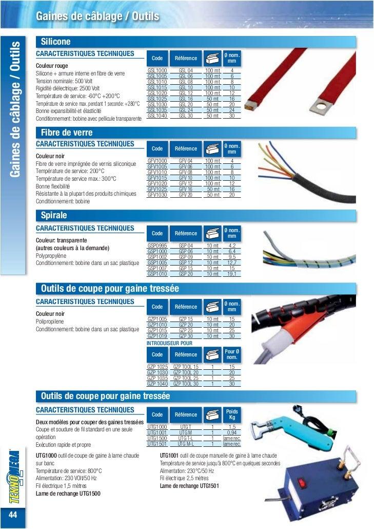 Gaines de-câblage-polyester-spirale-silicone-gaine-fibre-de-verre Slide 3