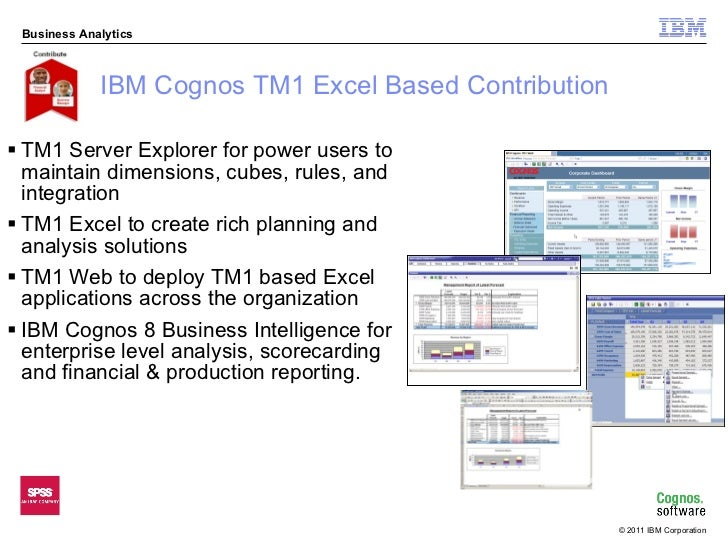 g a infomart cognos tm1 planning budgeting forecasting solution