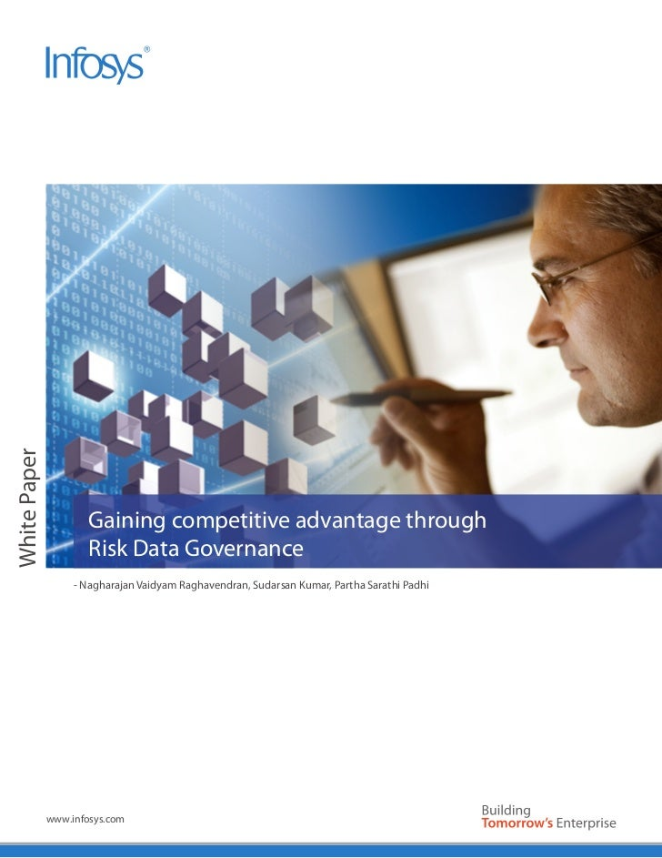 White Paper                      Gaining competitive advantage through                      Risk Data Governance          ...