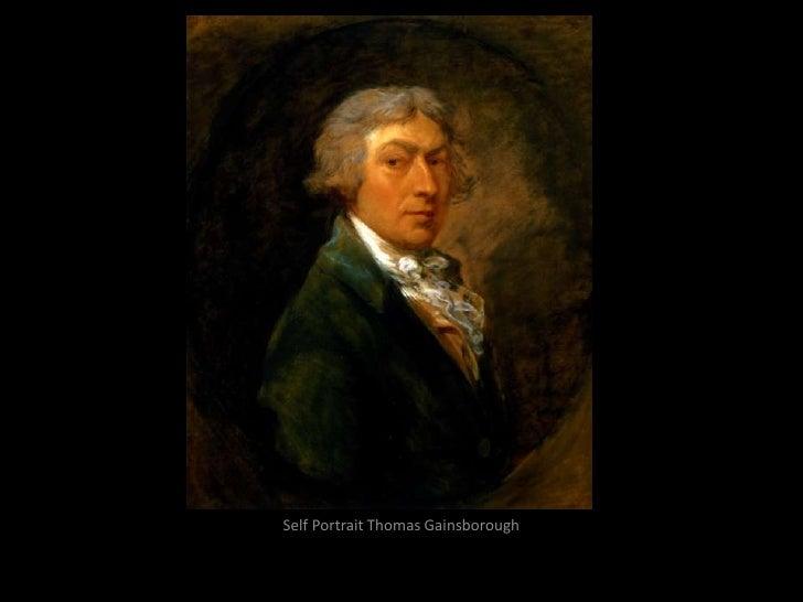 Self Portrait Thomas Gainsborough<br />