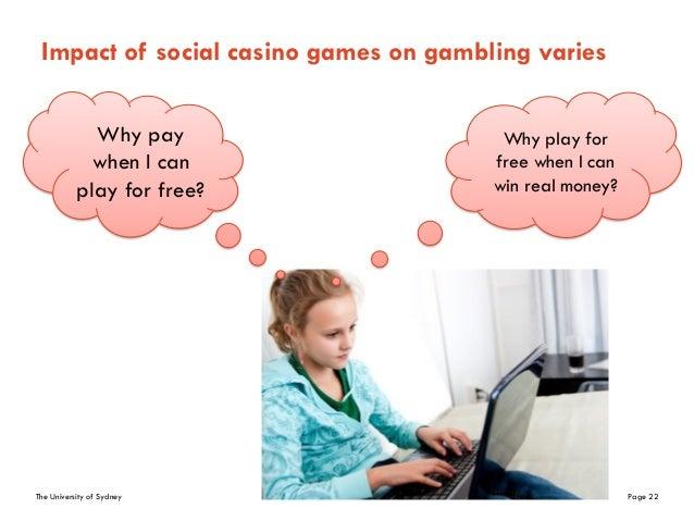Effect of casino on society