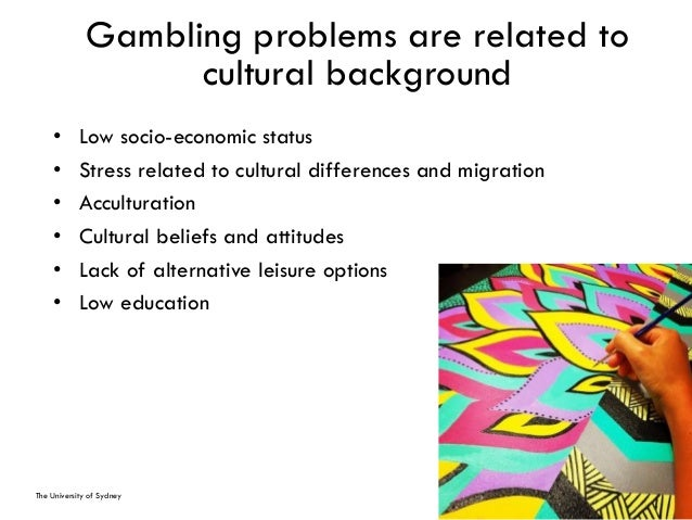 Gambling therapy sydney