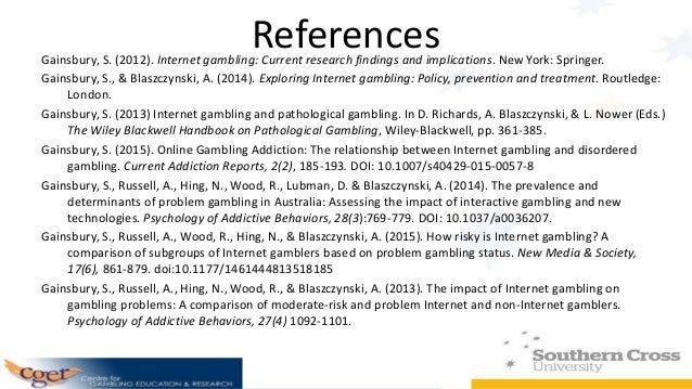 The social impact of internet gambling freeslots casino