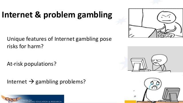 gambling and taking risks in one Thus gambling appears both as a form of deliberate risk-taking with increasing  legitimacy, and as risky behaviour that should be regulated by prevention  policies.