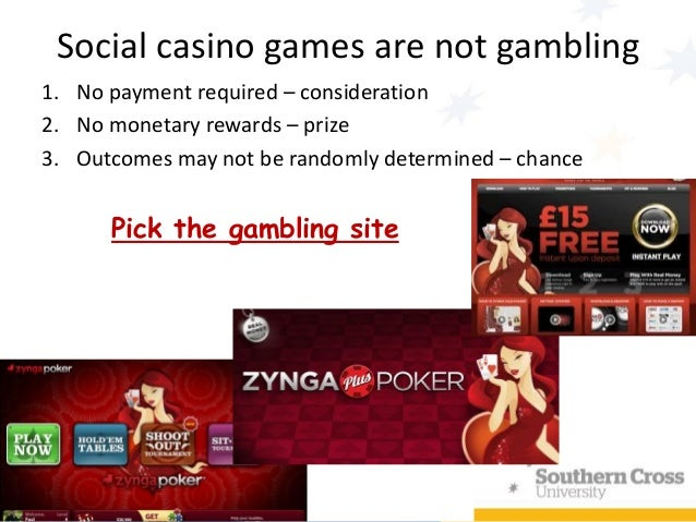 online gambling and social responsibility Responsible gaming resources download ncpg's a portion of all gambling revenue must be dedicated to reduce the social costs of gambling addiction.