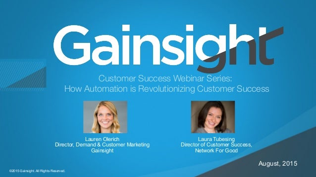 Customer Success Webinar Series: How Automation is revolutionizing Cu…