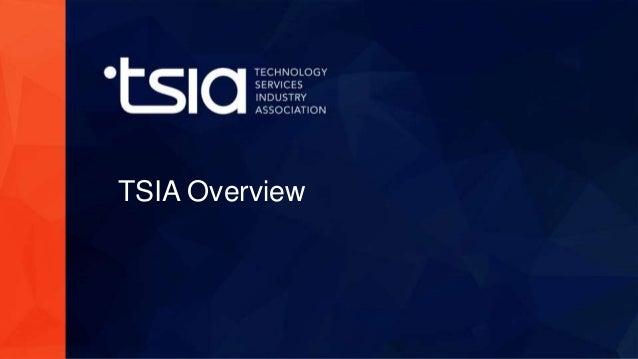 www.tsia.com TSIA Overview