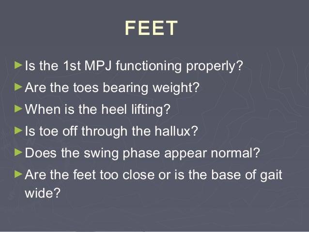 Functional Leg-LengthFunctional Leg-Length DiscrepancyDiscrepancy ►Swing leg: longer than stance legSwing leg: longer than...