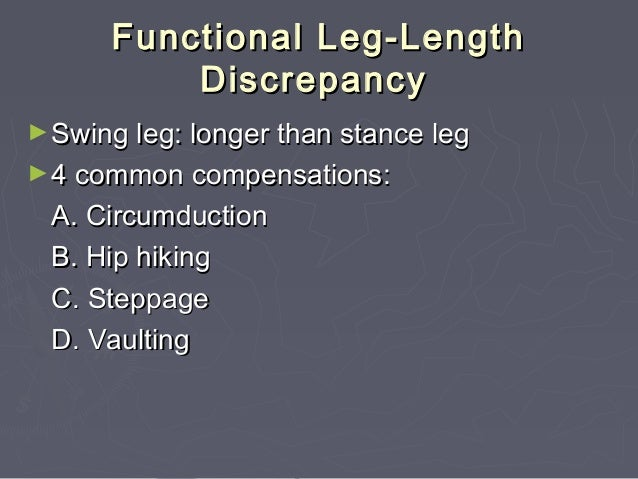 SIMILARITIES & DIFFERNCES BETWEEN LEVEL GROUND GAIT AND STAIR GATE ►Similarities to Walking Double support periods Ground ...