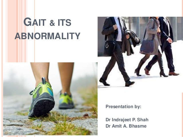 how to change your gait