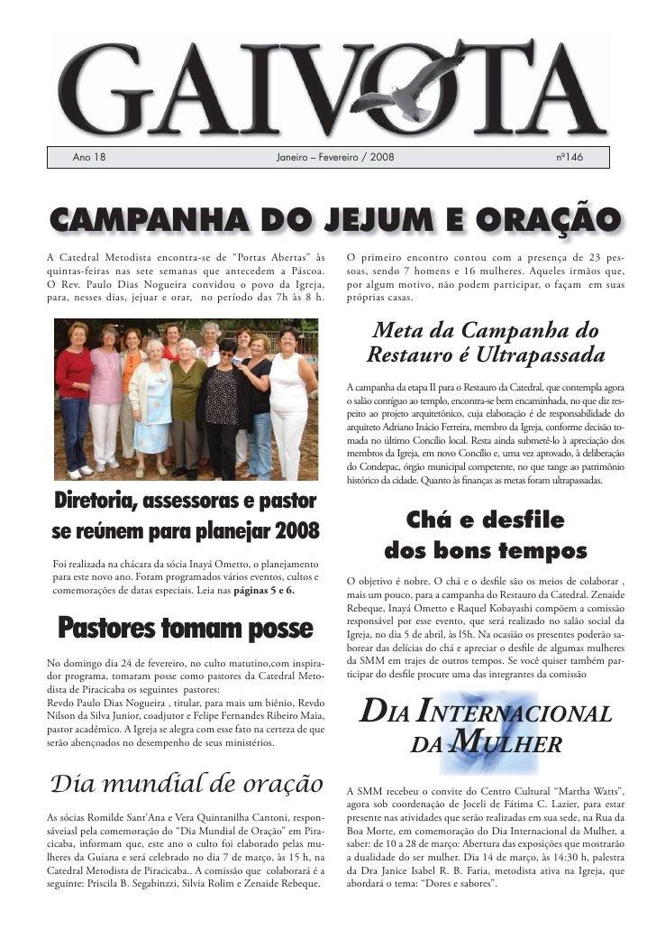 Ano 18                                            Janeiro – Fevereiro / 2008                                            nº...