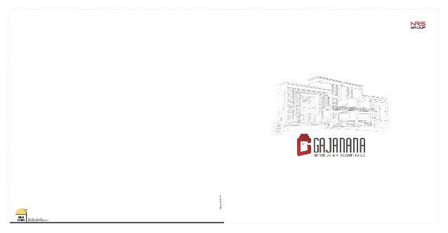 Gajanana Brochure- Mile Stone Infrastructure Development