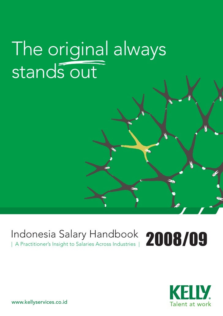 The original always stands out     Indonesia Salary Handbook | A Practitioner's Insight to Salaries Across Industries |   ...