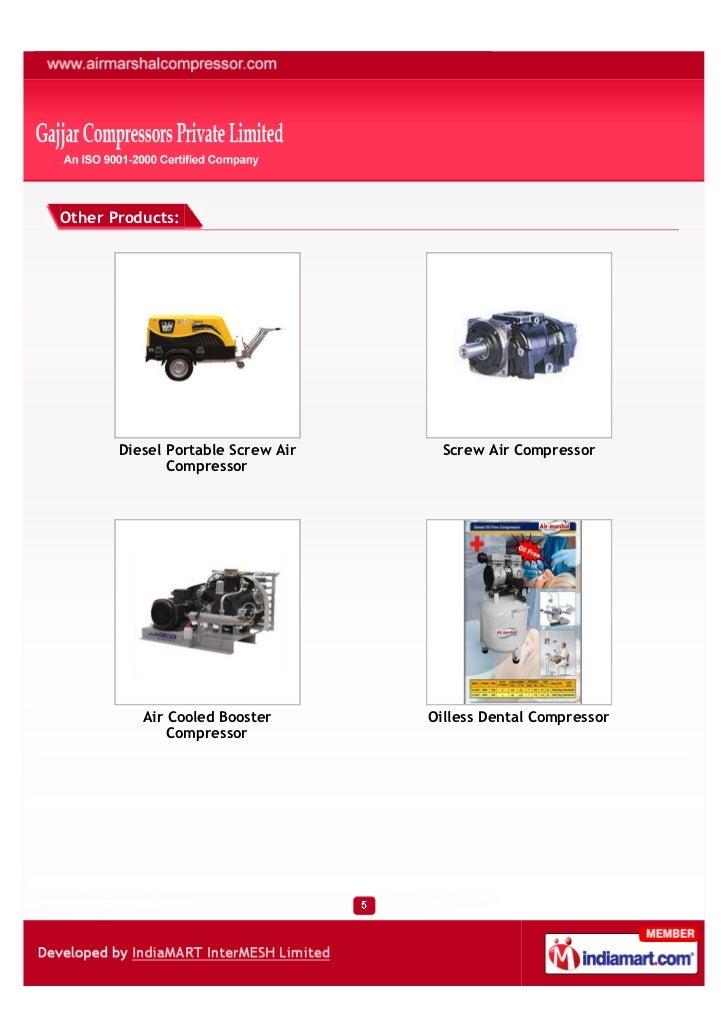 Gajjar Compressors Private Limited, Ahmedabad, Air Compressor