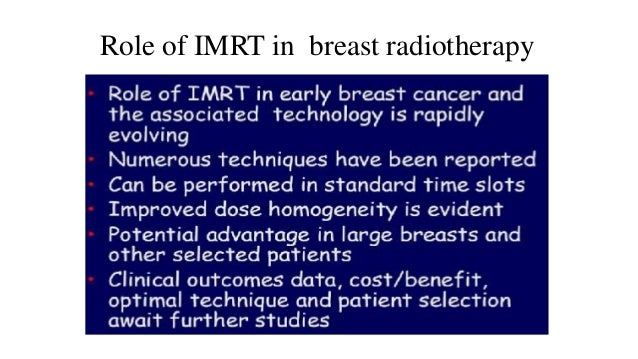 • Reduces the hotspots specially in the superior and inframammary portions of the breast. Increases homogenity Manifests c...