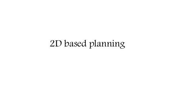 2D based planning