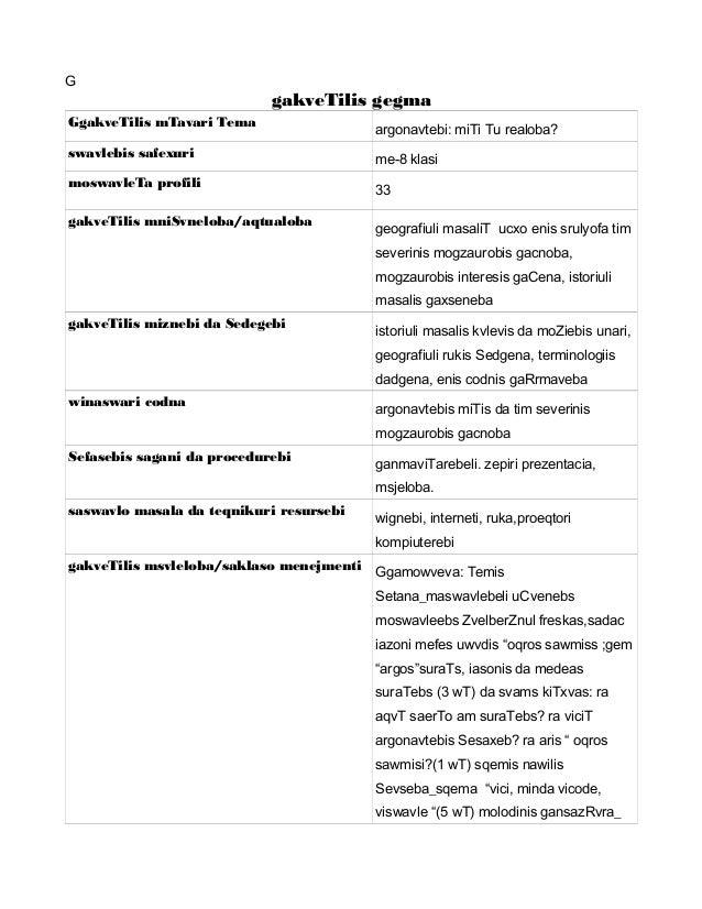 G gakveTilis gegma GgakveTilis mTavari Tema argonavtebi: miTi Tu realoba? swavlebis safexuri me-8 klasi moswavleTa profili...