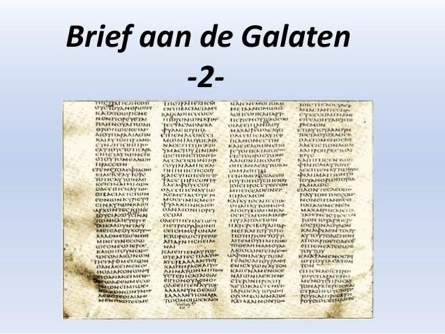 Brief aan de Galaten         -2-