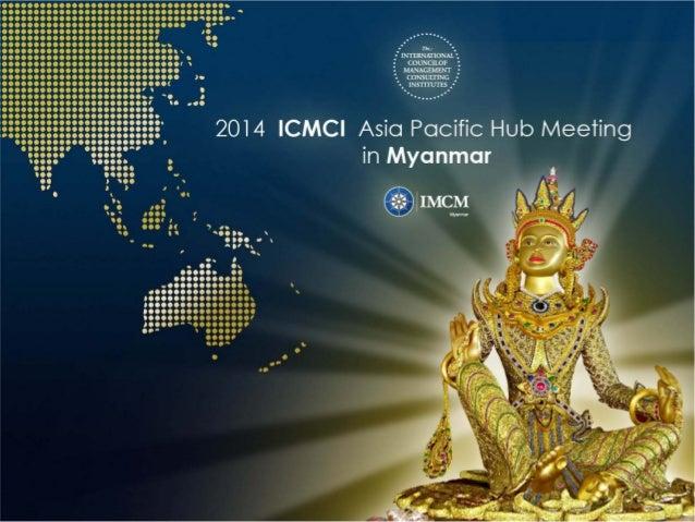 Report by Prof. Myint Thaung President of IMC Myanmar