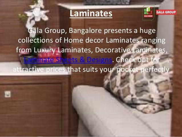 6. Laminates Gala Group ...