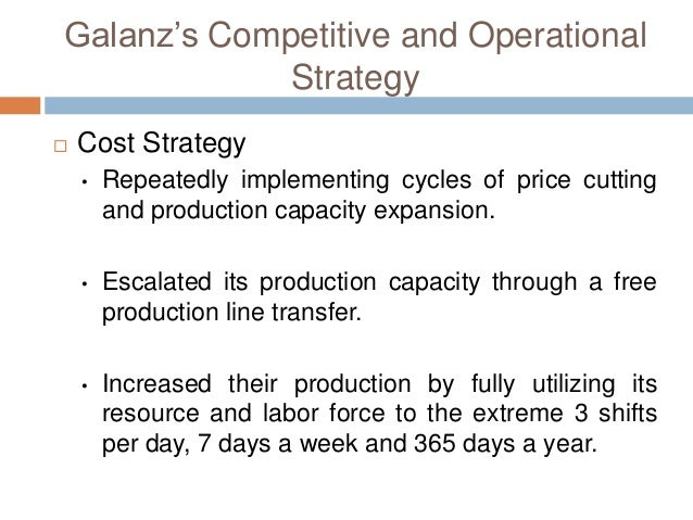 strategy analysis for galanz Jobs, companies, people, and articles for linkedin's sales director - galanz members  business strategy and analysis  developing a competitive strategy.