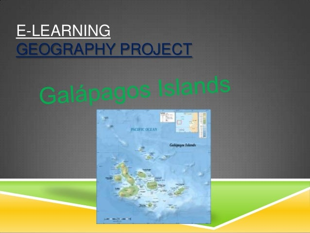 E-LEARNINGGEOGRAPHY PROJECT