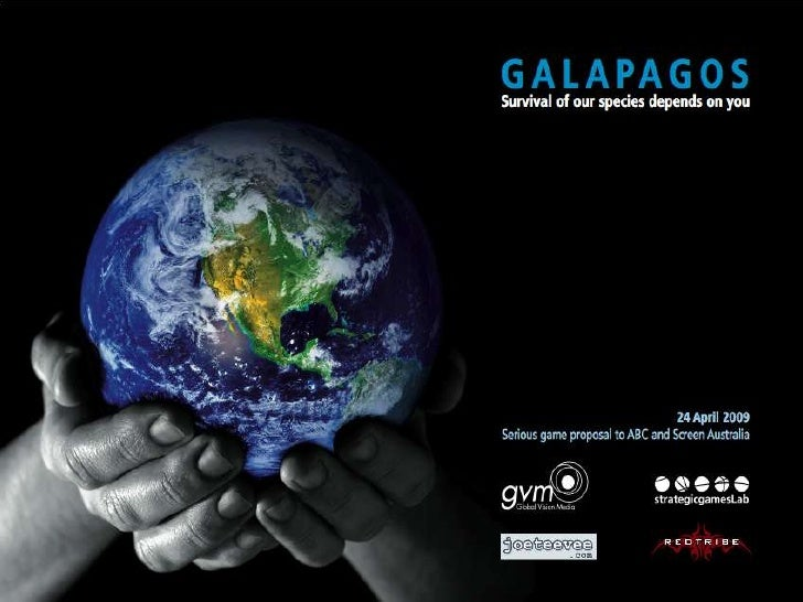 (Title page)       Galapagos  (add one line synopsis)