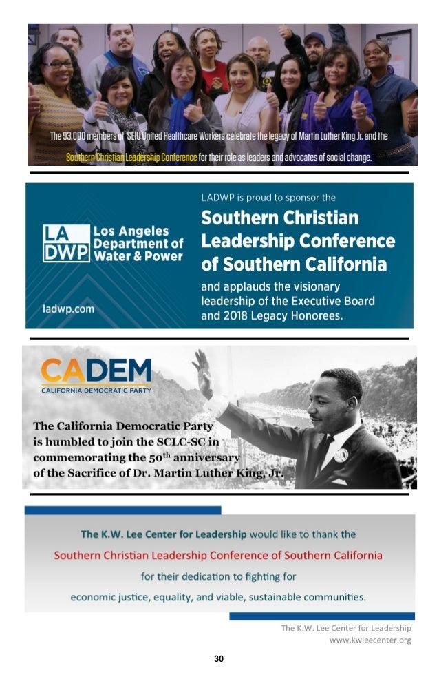 SCLC Southern California - King Week 2018