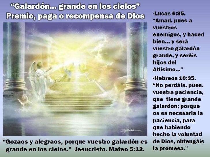 Que debo hacer para recibir el galardongrande en el cielo, el galardoncompleto, ofrecido por Dios? de tal manera amó Dios ...