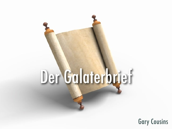 Der Galaterbrief                     Gary Cousins