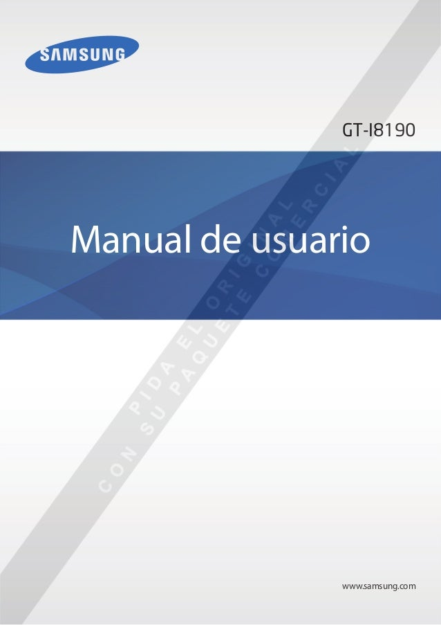 www.samsung.comManual de usuarioGT-I8190
