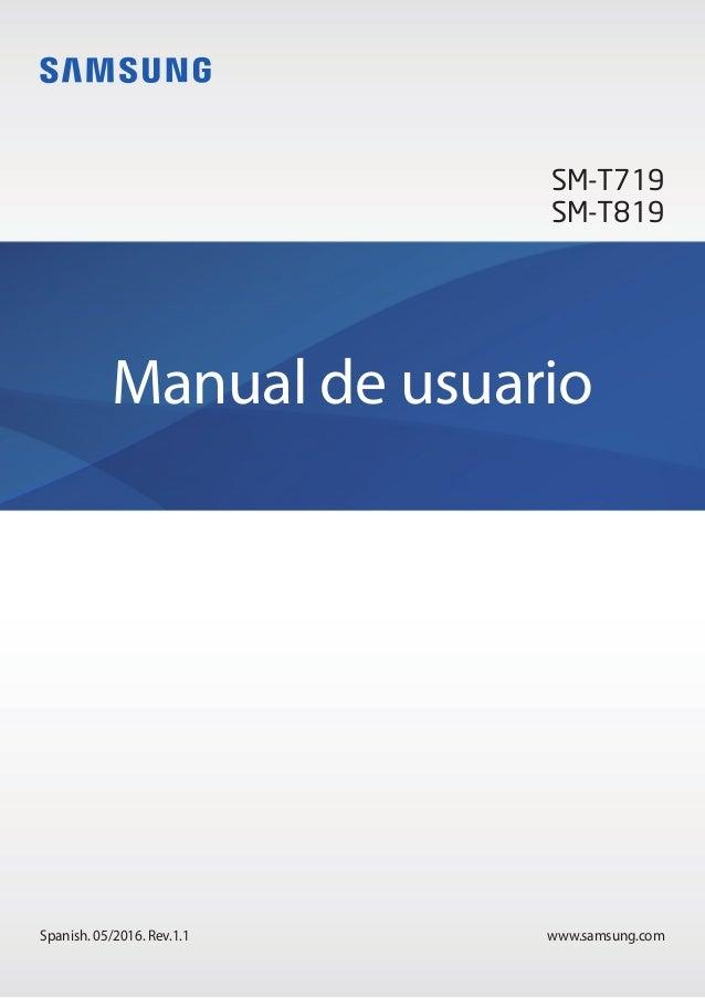 manual de usuario de la samsung galaxy tab s2 4g 9 7 t819 rh slideshare net manual de usuario samsung galaxy tab a6 manual de usuario samsung galaxy tab a6