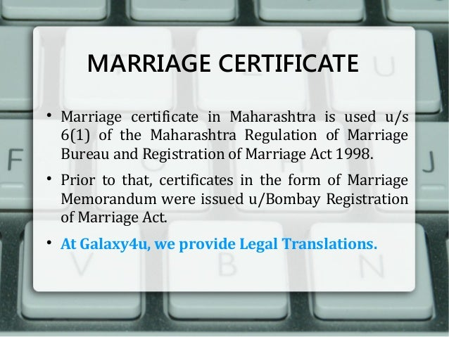 Galaxy4u legal translation agency pune india marriage certificate yelopaper Image collections