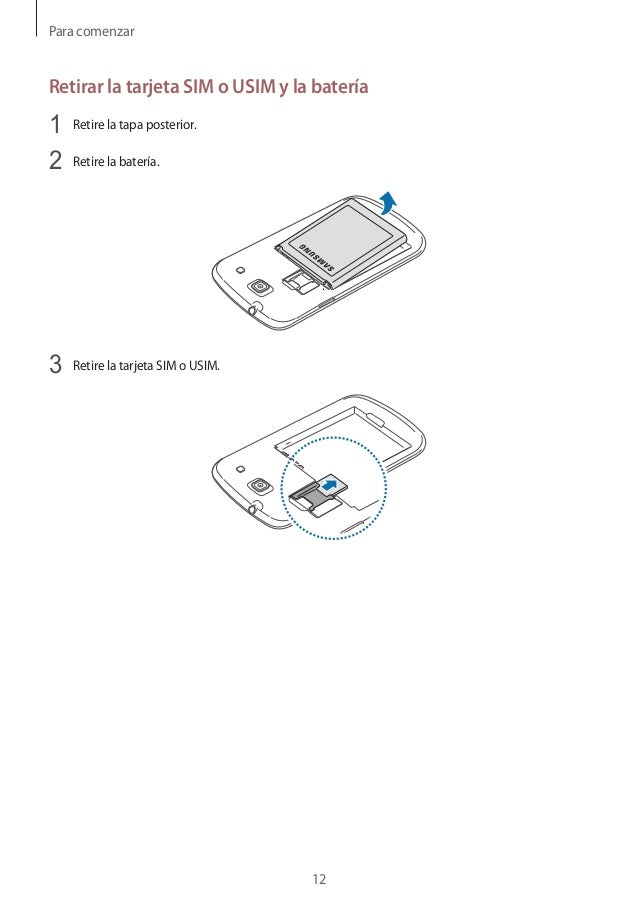 Manual Instrucciones Samsung Galaxy Core gt i8260